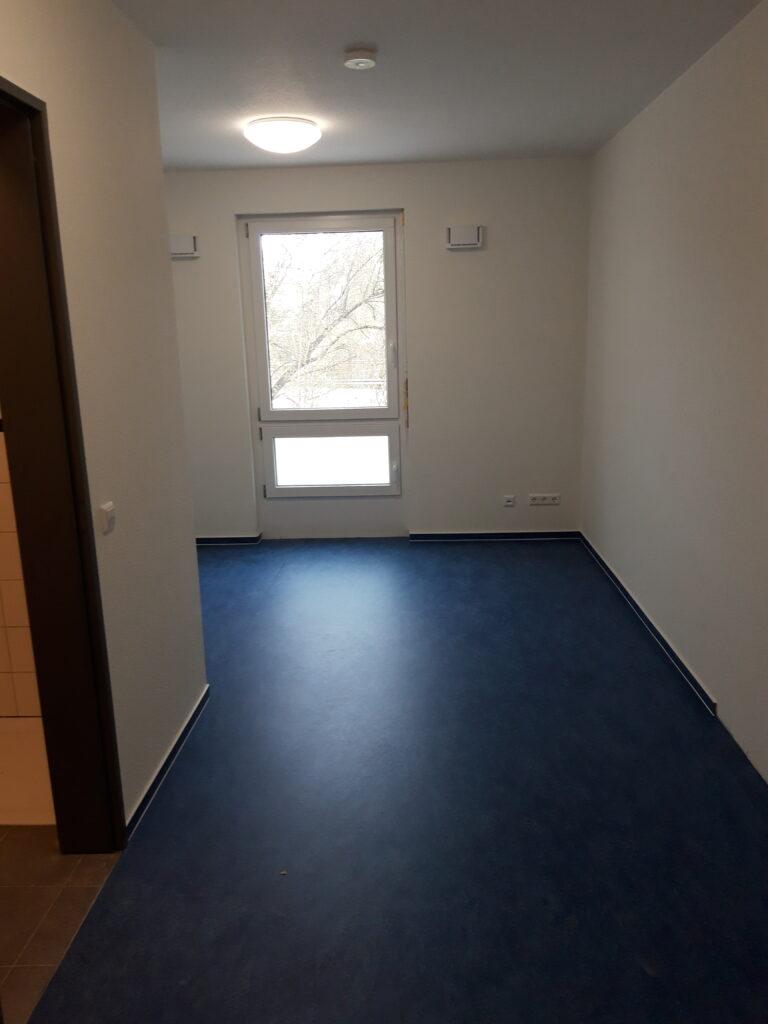 Innenraum: Studentenzimmer  - April 2021