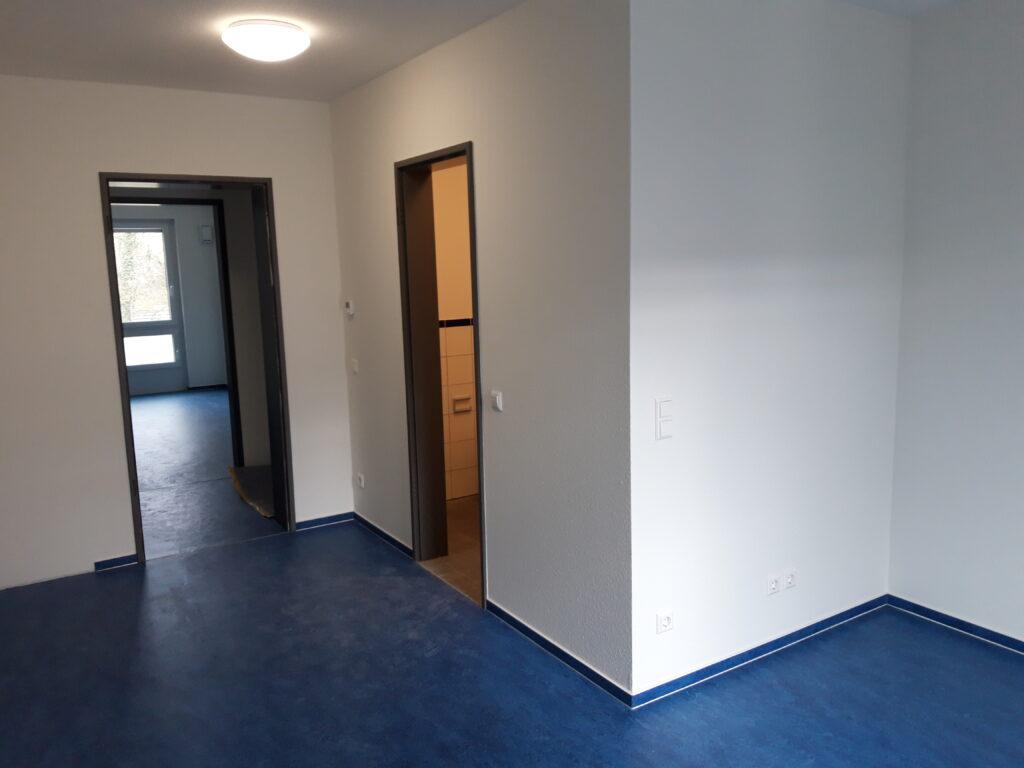 Innenraum Studentenzimmer 2 - April 2021